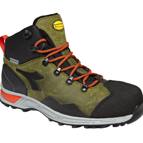 BOTA D-TRAIL LEATHER HIGH S3 SRA HRO WR VERDE