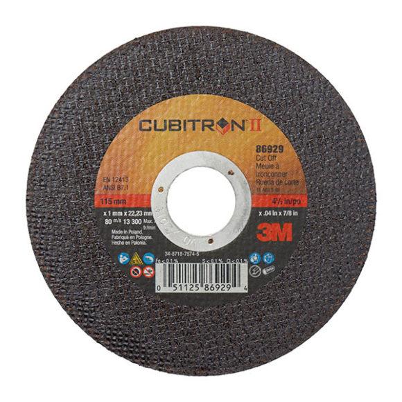 3M™ CUBITRON™ II DISCO DE CORTE-CENTRO HUNDIDO